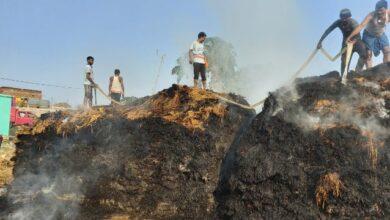 Photo of BANKA : इस गांव के 9 किसानों के पूरे सीजन की मेहनत पर बरस गयी आग, किसानों में हाहाकार